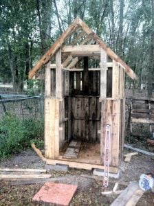 Chicken Coop out of Pallet