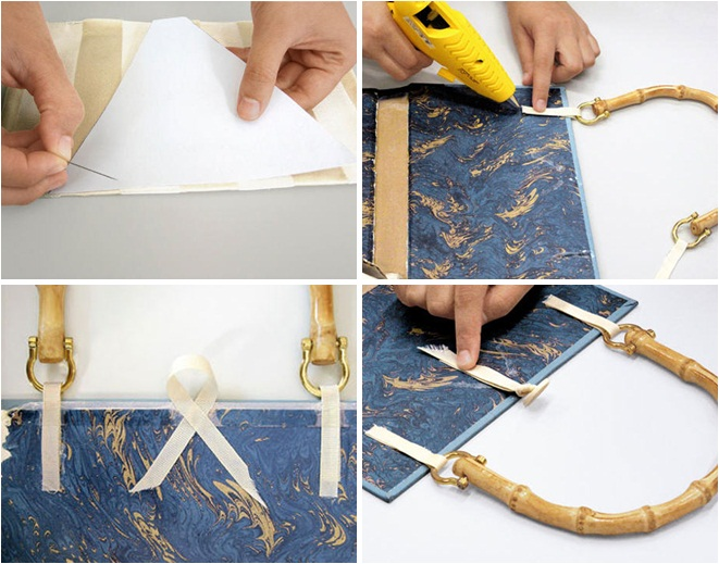 Diy Book Cover Paper Bag : Diy tutorials for making a book clutch guide patterns