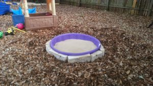 DIY Sandbox Pool