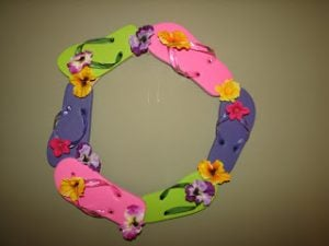 Flip Flop Wreath Project Version