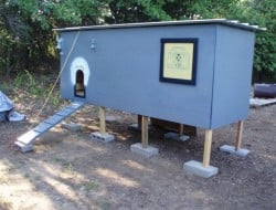 Homemade Pallet Chicken Coop Plan