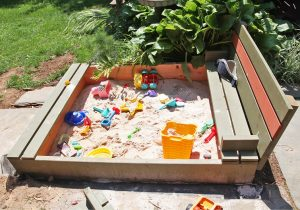 Homemade Sandbox