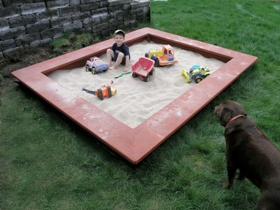 Sandbox Design Ideas diy backyard ideas for kids How To Build A Sandbox