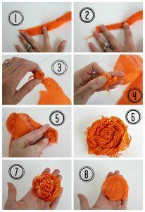 How to Make Burlap Flower