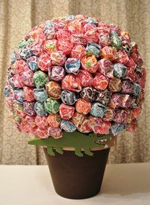 How to Make Lollipop Tree