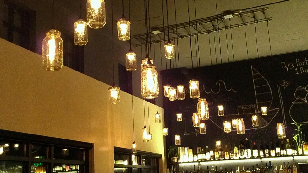 20 fascinating ways to make a mason jar lamp guide patterns for Hanging lights made from mason jars
