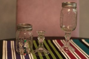 How to Make Mason Jar Wine Glasses