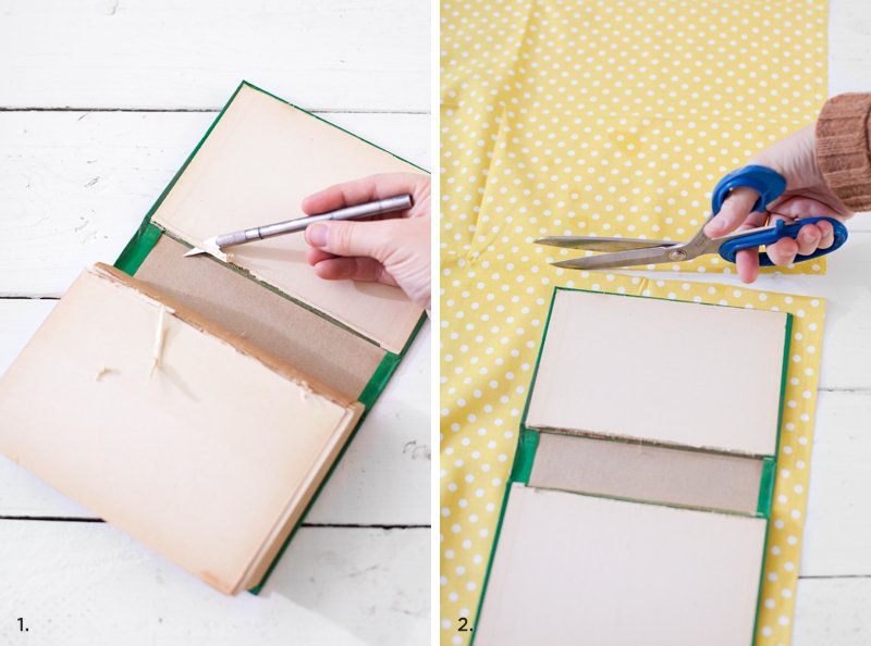 How To Make A Book Cover Out Of Fabric : Diy tutorials for making a book clutch guide patterns