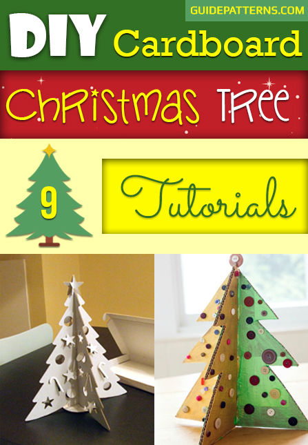 How To Make A Christmas Tree From Cardboard