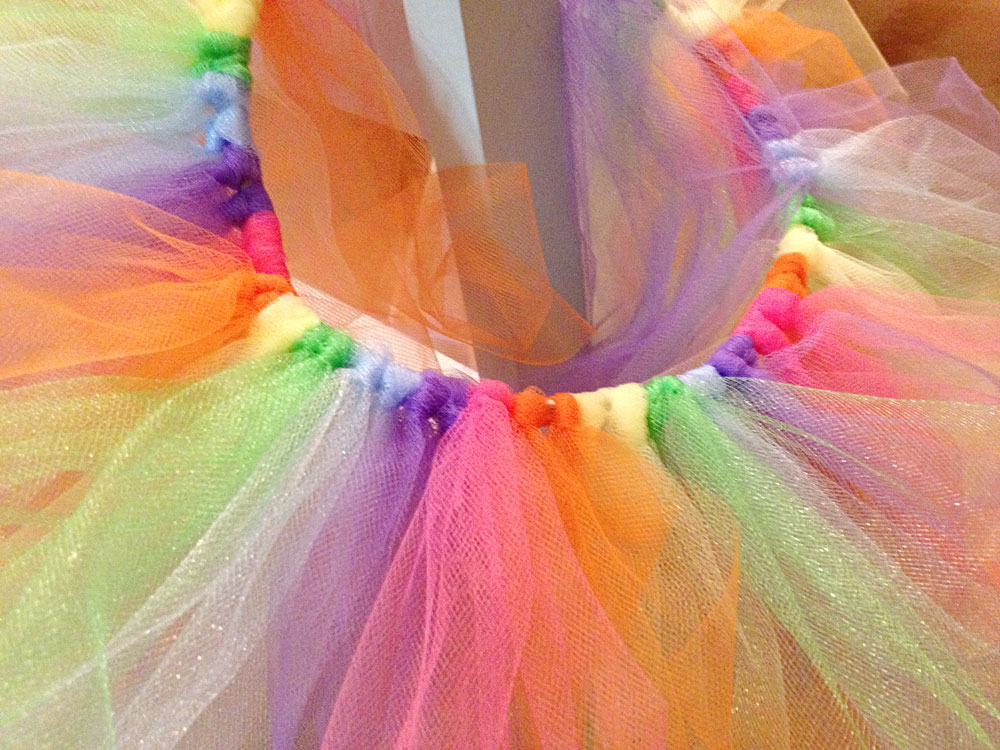 How To Make A Tutu Skirt No Sew