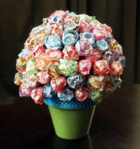 Lollipop Tree in a Pot
