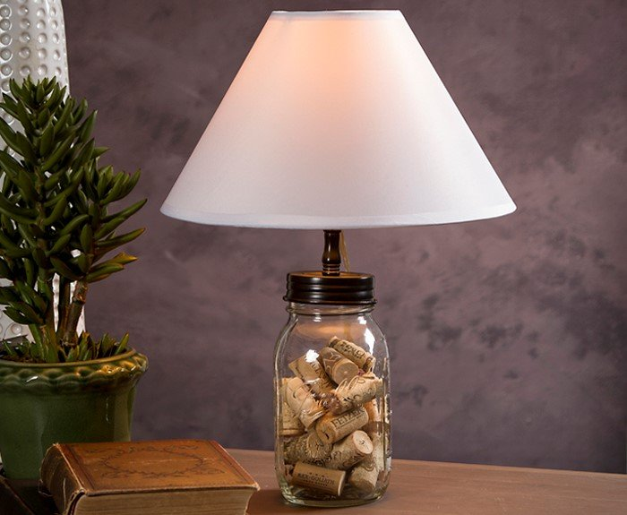20 Fascinating Ways To Make A Mason Jar Lamp Guide Patterns