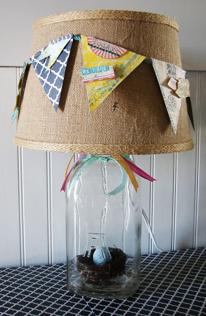 youtube how to make a mason jar lamp