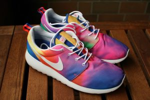 Nike Tie Dye Shoes