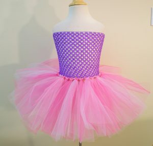 No Sew Tutu with Crocheted Headband