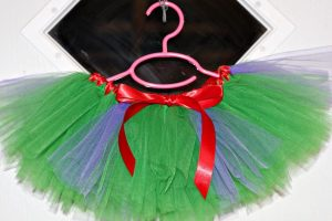 No Sew Tutu with Ribbon Waist
