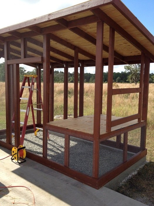How to build a pallet chicken coop 20 diy plans guide for Wood pallet gazebo