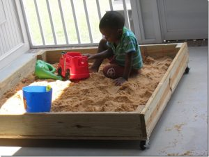 Portable Backyard Sandbox