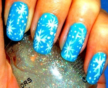 12 Stunning Snowflake Nail Art Designs With Tutorials Guide Patterns