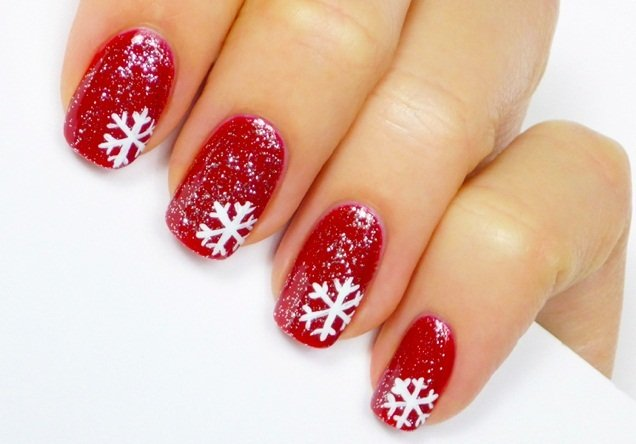 Snowflakes Nail Art - 12 Stunning Snowflake Nail Art Designs With Tutorials Guide Patterns