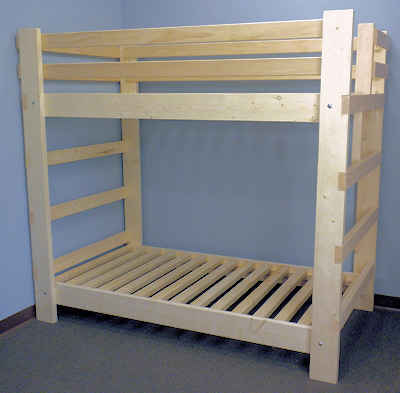 Low Profile Bunk Bed Plans