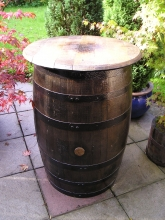 Whisky Barrel Table Pictures