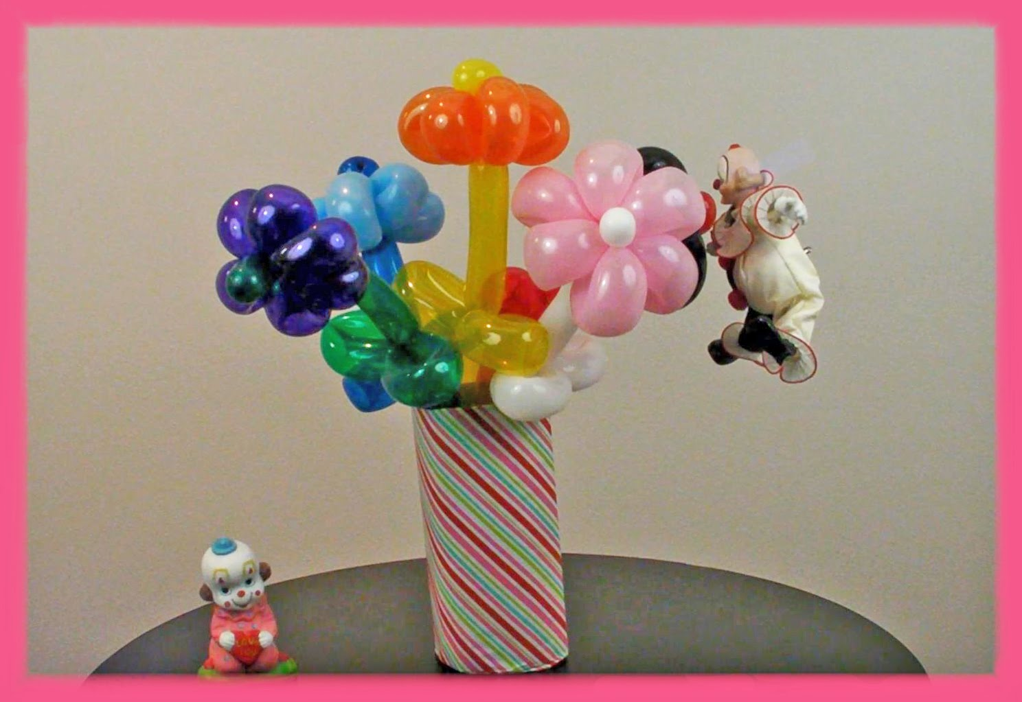 How to make balloon flowers 15 marvelous ways guide patterns balloon flower bouquet izmirmasajfo Choice Image