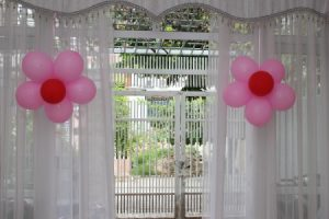 Balloon Flowers for Baby Shower
