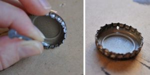 Bottle Cap Necklace Tutorial