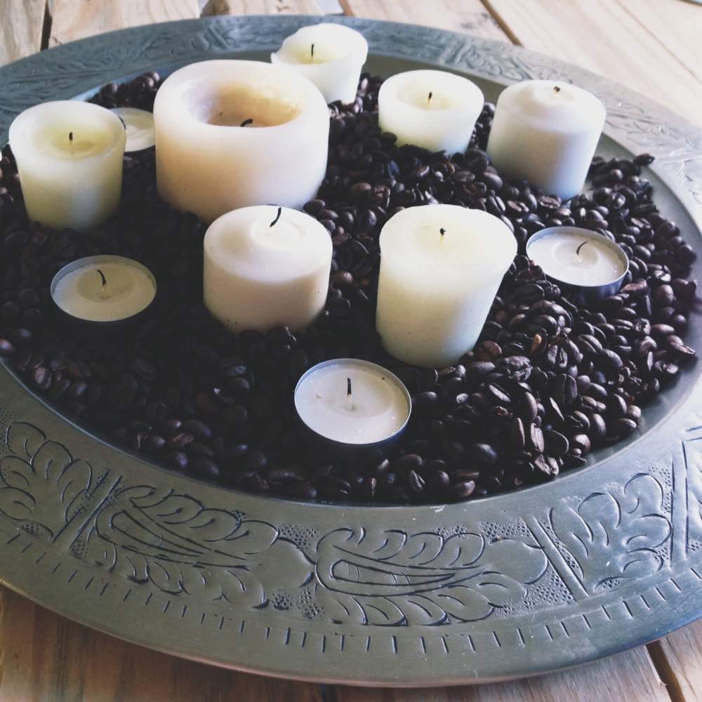 Coffee candle crafts interesting diys guide patterns