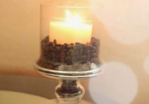 Coffee Bean Candle Decor