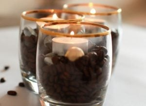 Coffee Bean Candles