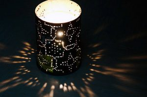 Coffee Can Candle Lantern