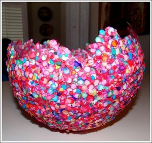 Confetti Balloon Bowl