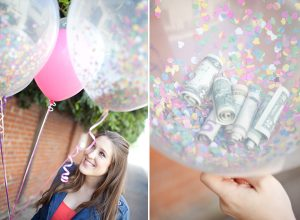 Confetti Balloons Wedding