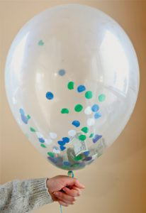 Confetti Balloon with Money