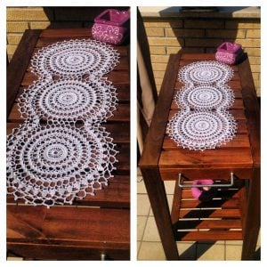 Crochet Motif Table Runner