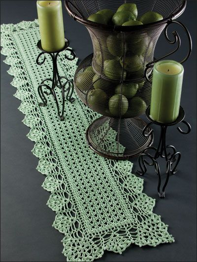 Crochet Pattern for Table Runner