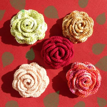 Crochet Patterns Roses Free : How to Crochet a Rose: 32 Free Patterns Guide Patterns