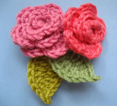 Crochet Patterns Of Roses : How to Crochet a Rose: 32 Free Patterns Guide Patterns