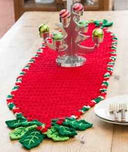 Crochet Table Runner Christmas