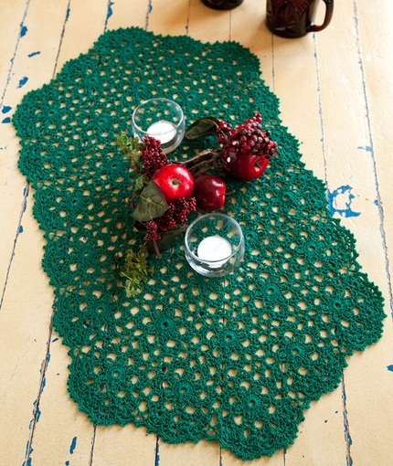 32 Free Crochet Table Runner Patterns | Guide Patterns