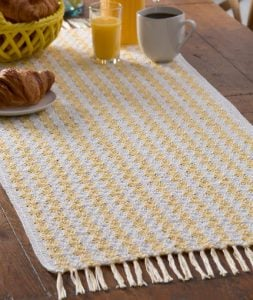 Crochet Table Runner Tutorial