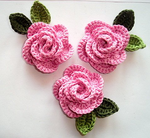 Crochet Thread Rose Pattern Free : How to Crochet a Rose: 32 Free Patterns Guide Patterns