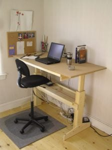 DIY Sit Stand Desk