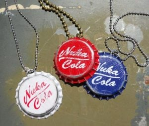 Fallout New Vegas Bottle Cap Necklaces