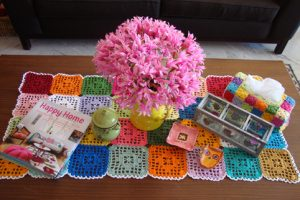 Free Crochet Table Runner