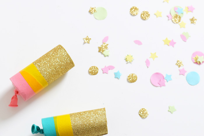 26 Homemade Confetti Party Poppers Guide Patterns