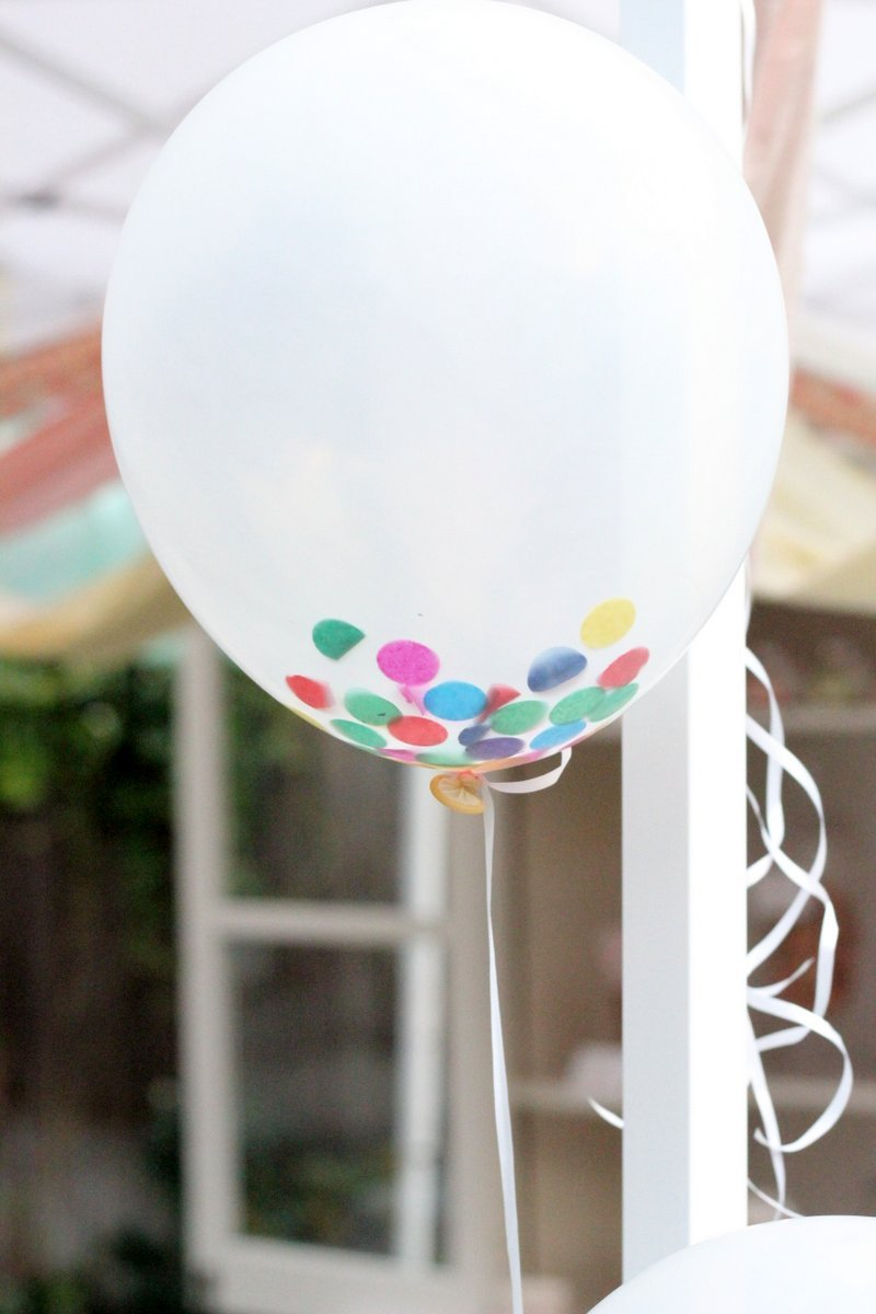 confetti balloons  25 interesting how tos