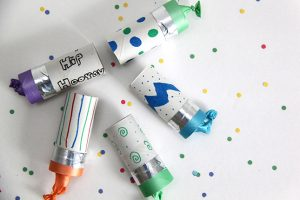 Homemade Confetti Poppers